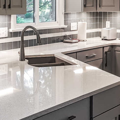 Genial Our Quartz Countertops Are, Both Practical And Aesthetically Pleasing. They  Are Incredibly Easy To Clean With Warm Water And Soap And Are Naturally ...