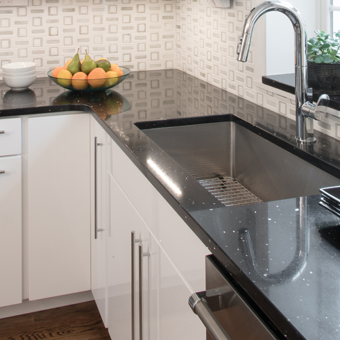We Fabricate Our Solid Surface Countertops From An Array Of Materials To  Complement Any Kitchen Or Bathroom Design.