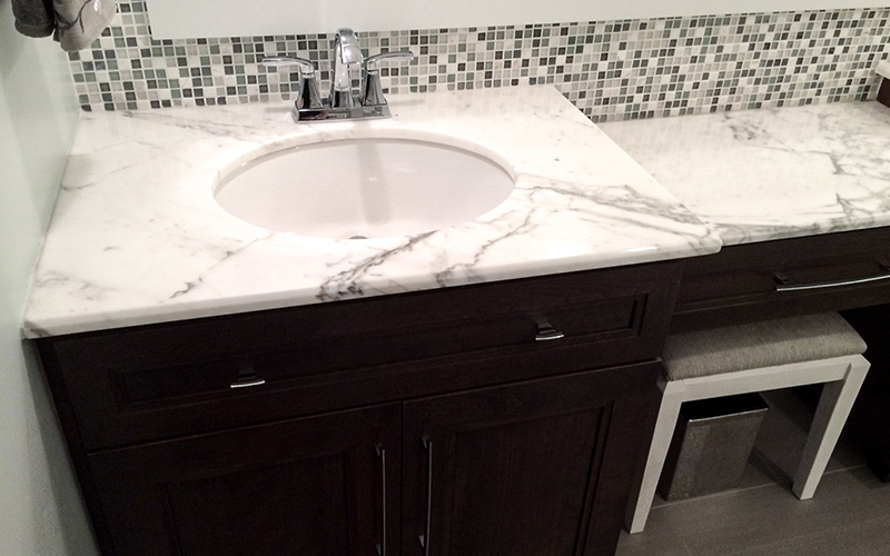 Elite Stone Marble Bathroom Countertop Gallery - Bathroom countertop remodel